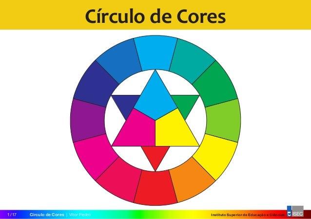 Instituto Superior de Educação e CiênciasCírculo de Cores|Vitor Pedro1/17 Círculo de Cores