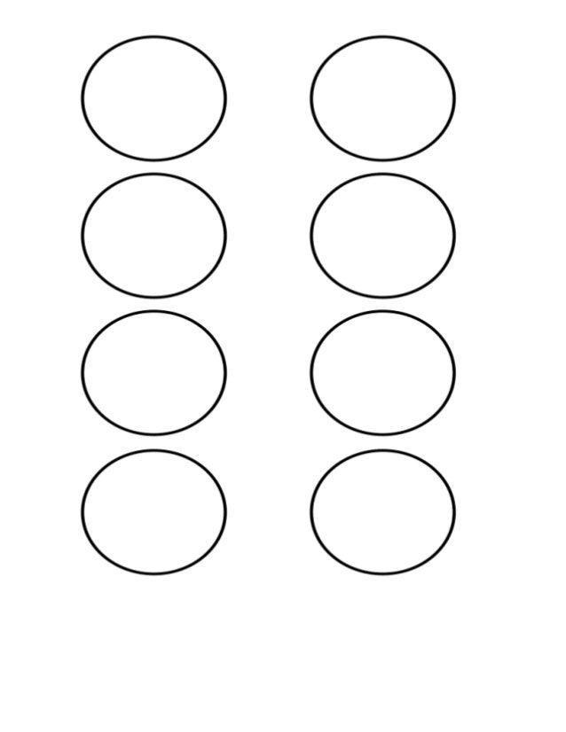 circulos para colorear