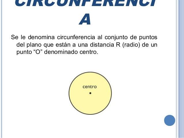 Circulo y circunferencia Slide 2