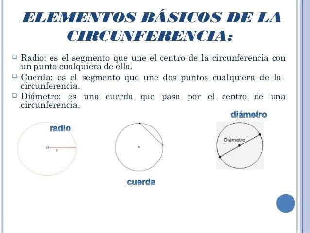 Circulo y circunferencia Slide 3