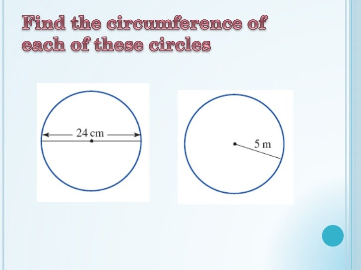 how to find diameter of a circle with circumference