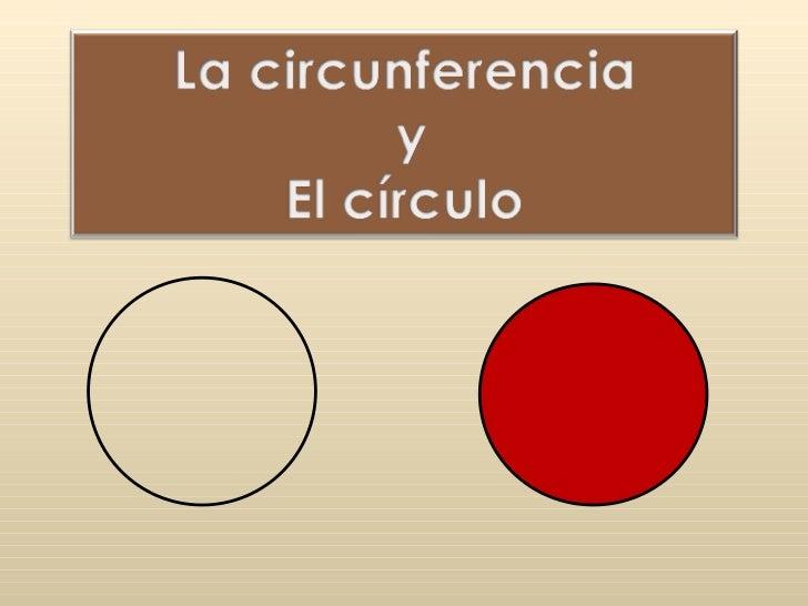 Circunferencia Y Circulo Slide 1