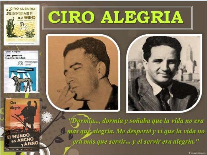 CIRO ALEGRIA