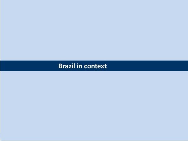 Brazil in context