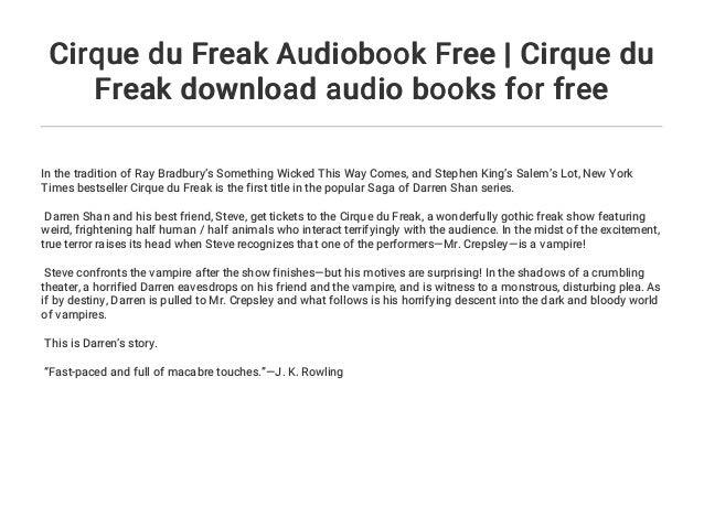 cirque du freak download