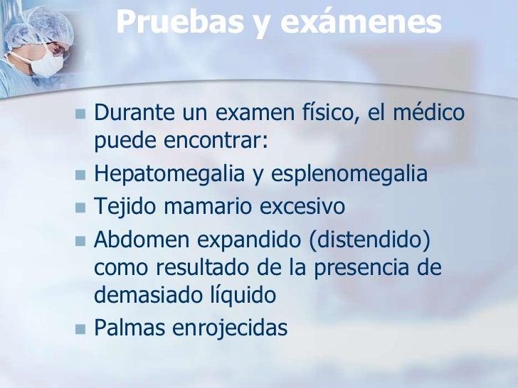  Anemia (detectada en un conteo  sanguíneo completo) Problemas de coagulación Problemas de la función hepática  (detect...