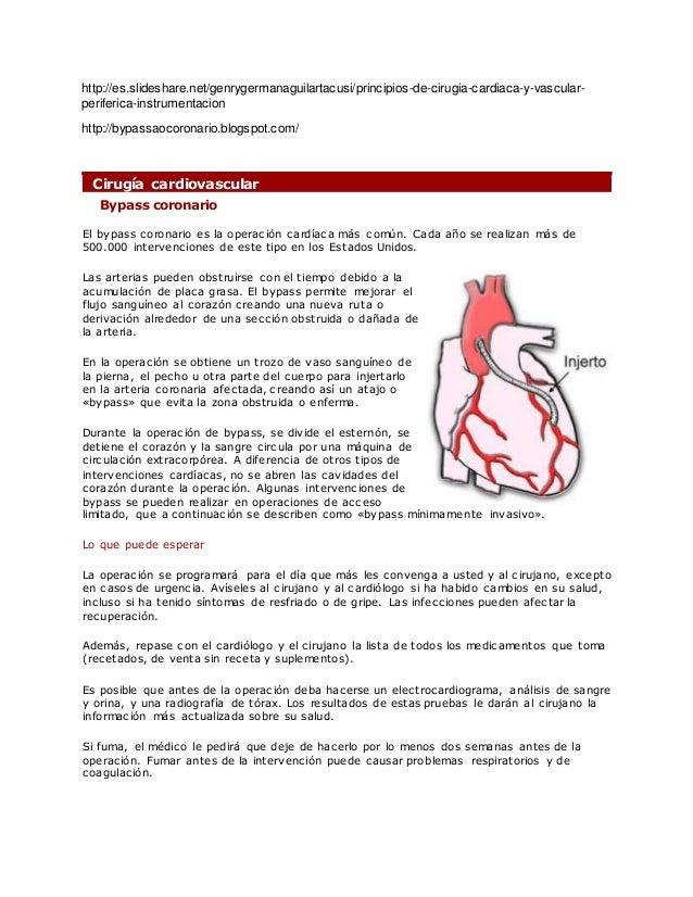 http://es.slideshare.net/genrygermanaguilartacusi/principios-de-cirugia-cardiaca-y-vascular- periferica-instrumentacion ht...
