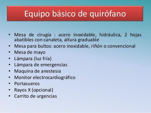 Principios de cirug a veterinaria for Mesa quirofano veterinaria