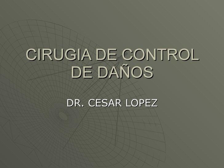 Cirugia De Control De Da 241 Os