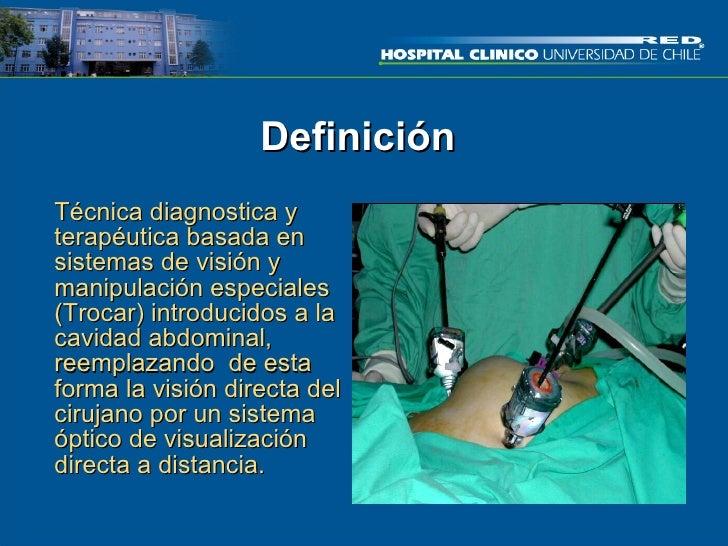 Cirugia laparoscopica Slide 3