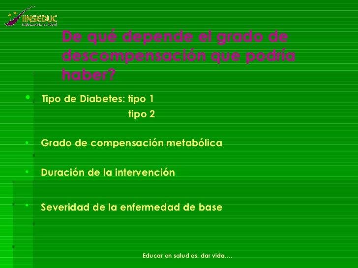 Diabetes y Cirugia