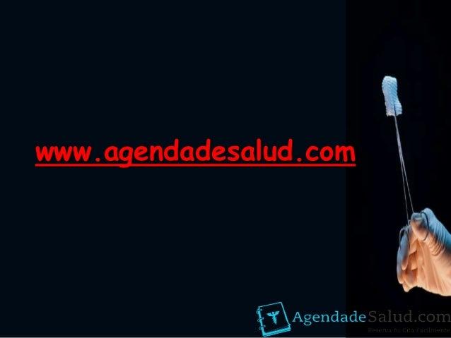 www.agendadesalud.com