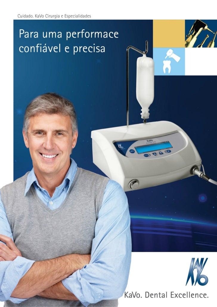 Cuidados KaVo. Cirurgia e Especialidades.