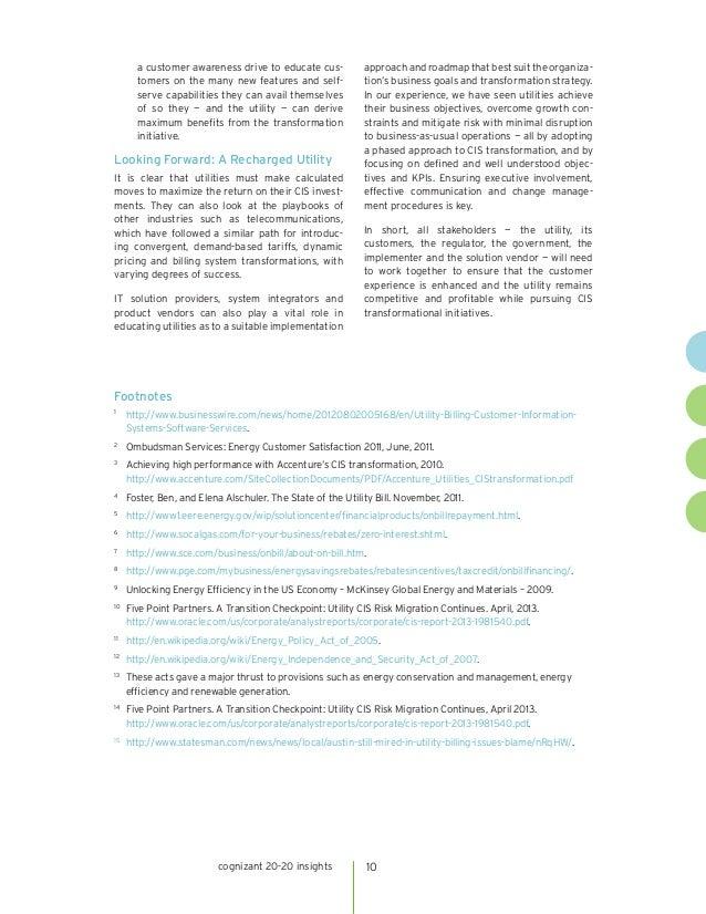 Cis Transformation Unlocking The Value Of Utilities