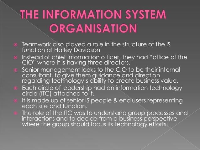  Cotteleer & Davidson started investigating the possibilities for new systems & processes.  In October, 1997, they made ...