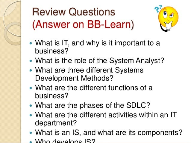 introduction to business systems analysis student Description of module content: revision of systems theory introduction to  classical systems analysis (data flow, data structure, entity life history models.