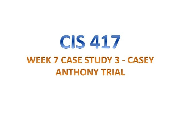 casey anthony case study