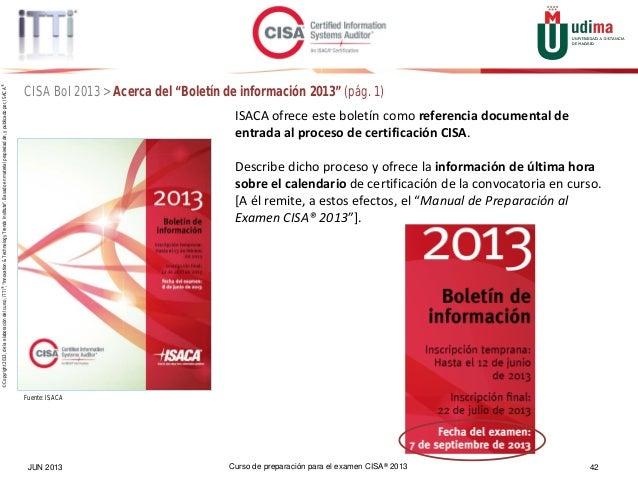 cisa online review course spanish espa ol intro rh es slideshare net