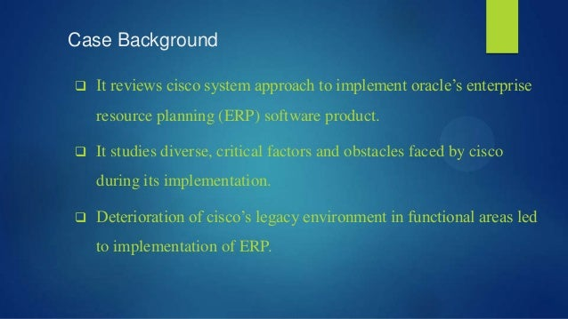 cisco systems inc implementing erp apa citation