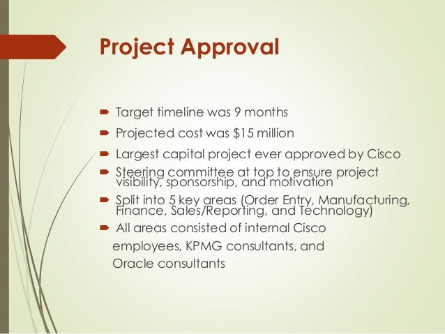 cisco implementing erp Cisco system inc implementing erp 1 cisco system inc implementing erp 2 case background it reviews cisco system approach to implement.