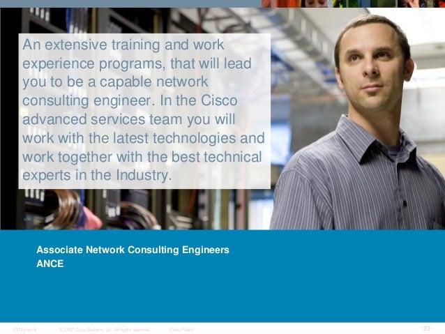 cisco publicccna rev 6 22 cisco graduate programs 23 - Network Consulting Engineer