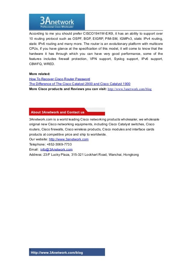cisco router 1900 configuration pdf