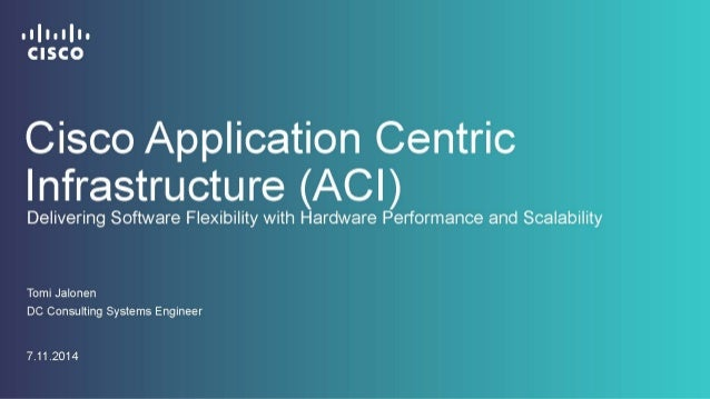 Why ACI?  © 2013-2014 Cisco and/or its affiliates. All rights reserved. Cisco Confidential 2