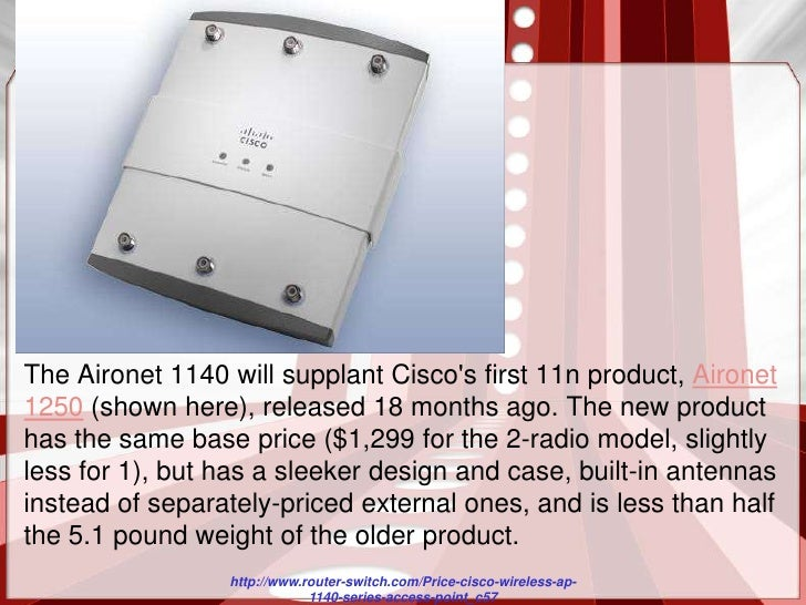 Cisco aironet 1140 Access Point manual