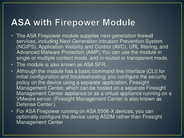 Cisco ASA Firepower