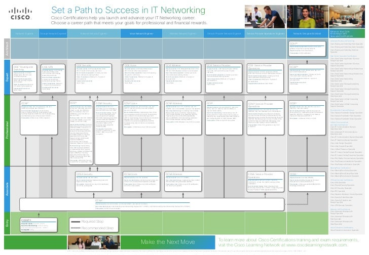 cisco career certification paths