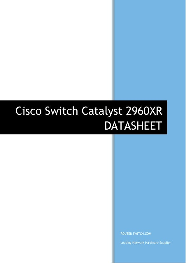 Cisco catalyst 2960-c and 3560-c series compact switches data.