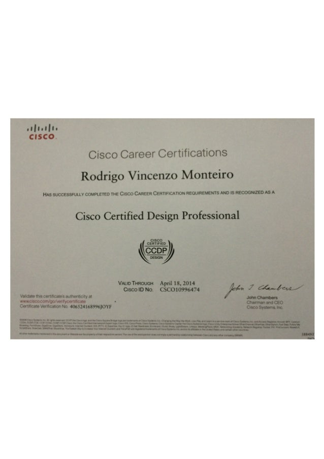 Cisco Certifications