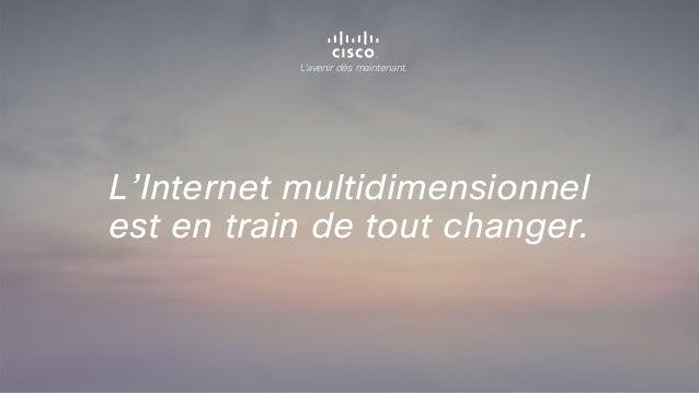 L'avenir dès maintenant. L'Internet multidimensionnel est en train de tout changer.