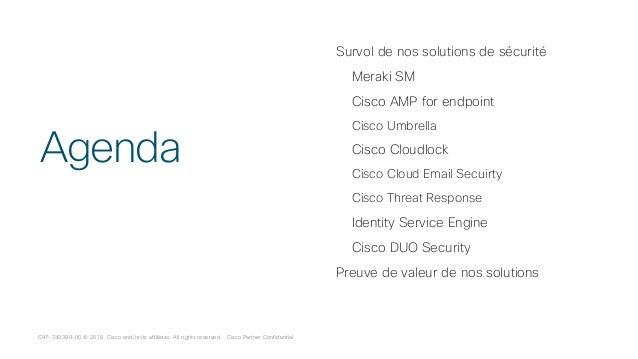 Cisco Connect Montreal 2018 Securité : Sécuriser votre mobilité avec …