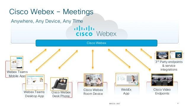 Cisco connect montreal 2018 collaboration les services webex