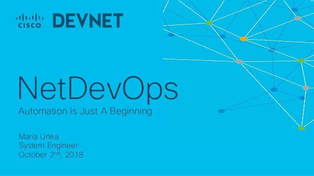 Cisco Connect Ottawa 2018 dev net