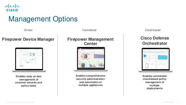 Cisco Connect Vancouver 2017 - Putting firepower into the