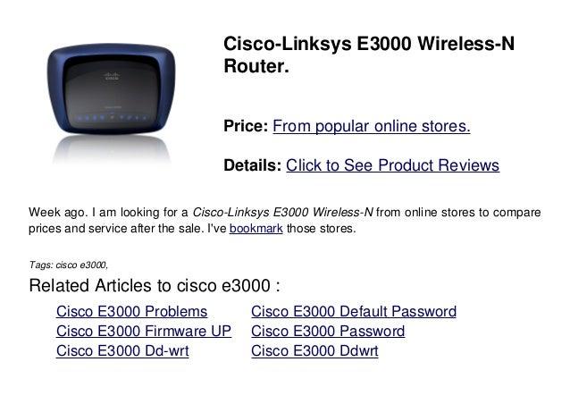 Cisco e3000