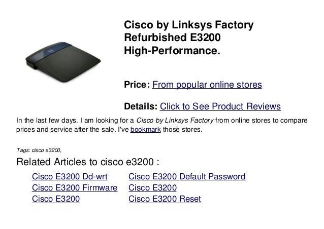 Cisco e3200
