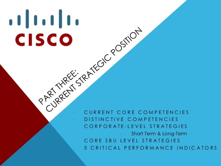 cisco core competencies