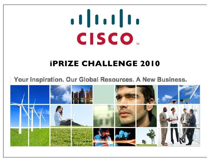 iPRIZE CHALLENGE 2010
