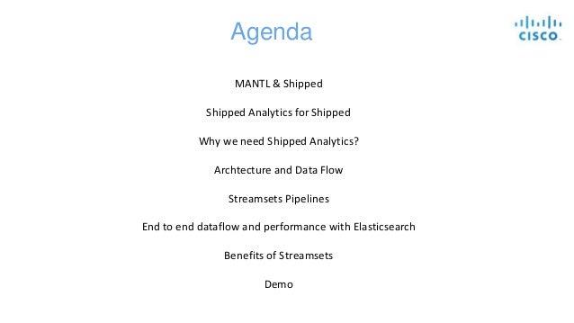 Case Study: Elasticsearch Ingest Using StreamSets at Cisco