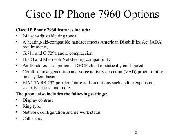 Cisco ip phone 7960