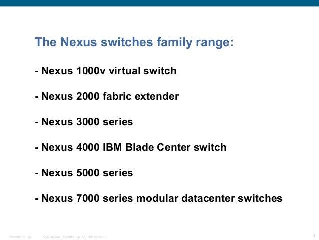 Cisco nexus 7009 overview
