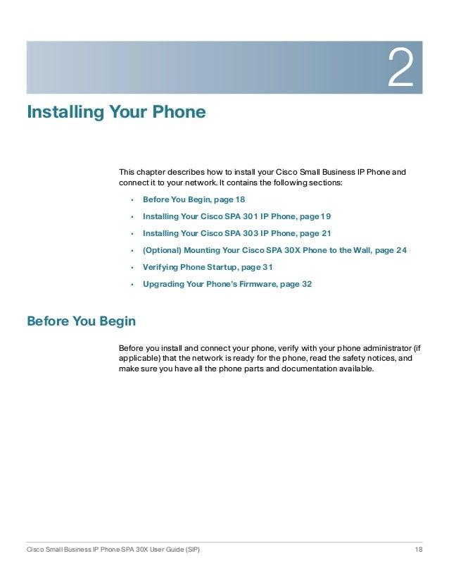 Cisco SPA303 Users Guide