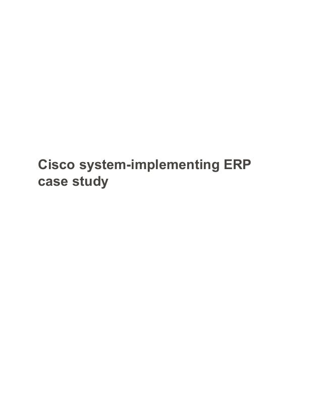 Cisco Systems Inc Essay Sample