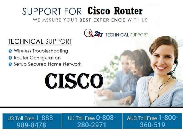 Cisco Technical Support Number 1-888-989-8478