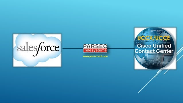 Cisco UCCX/UCCE Integration With SFDC Salesforce
