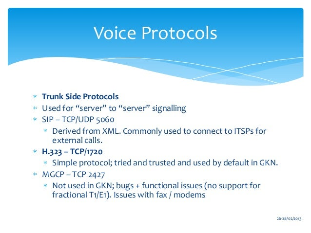 Barry Hesk: Cisco Unified Communications Manager training deck 1