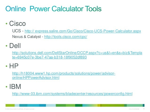 Cisco ucs tco roi tools - getting the best results